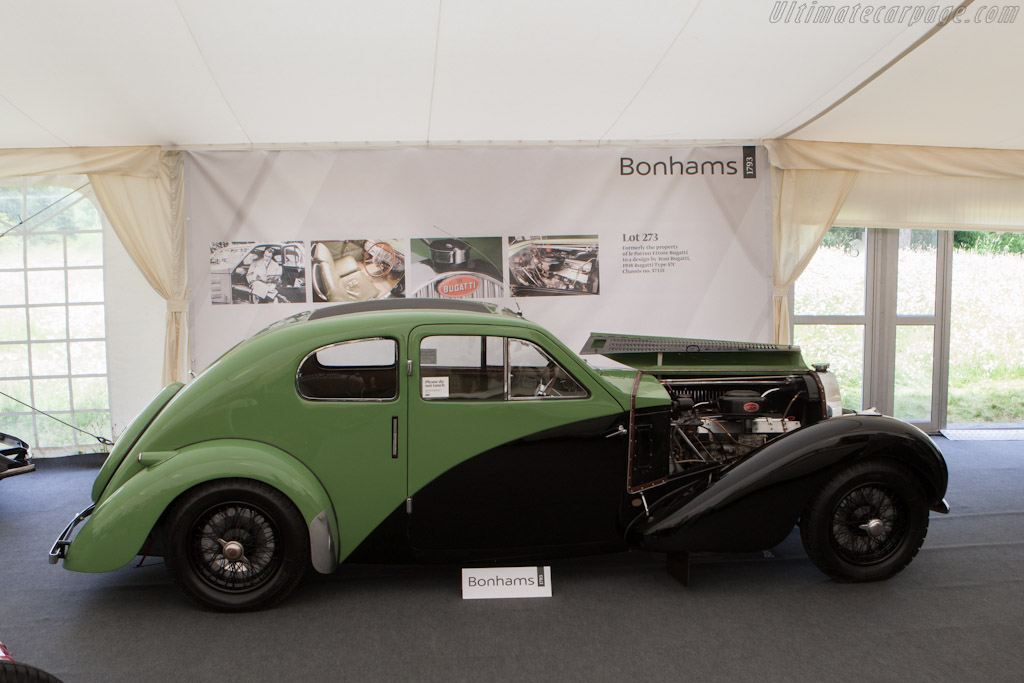Bugatti Type 57 C Coupe Aerodynamique - Chassis: 57335   - 2012 Goodwood Festival of Speed