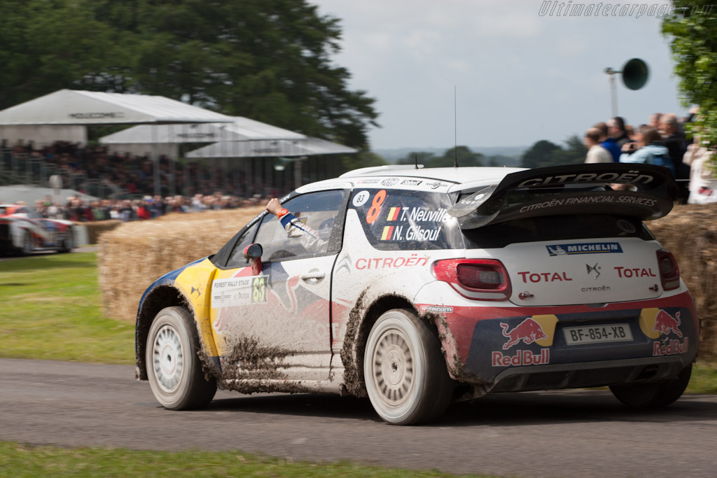 Citroën DS3 WRC    - 2012 Goodwood Festival of Speed