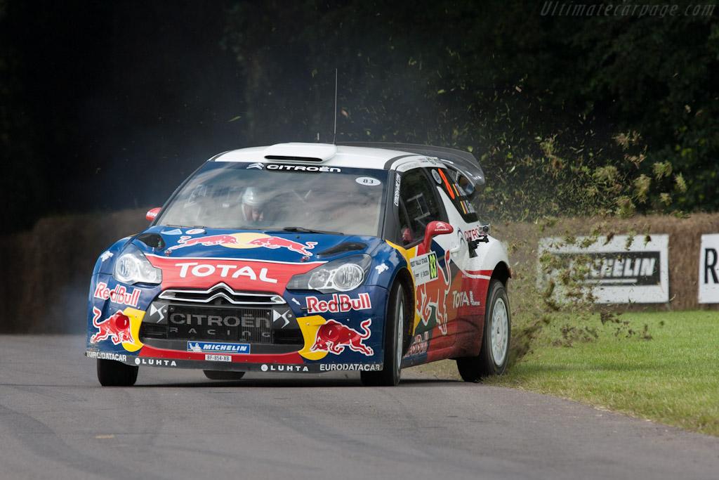 Citroën DS3 WRC    - 2012 Goodwood Festival of Speed