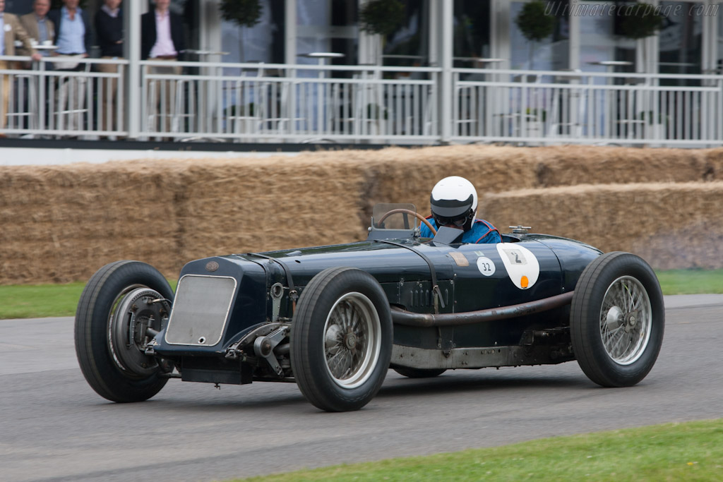 Delage 15 S8    - 2012 Goodwood Festival of Speed