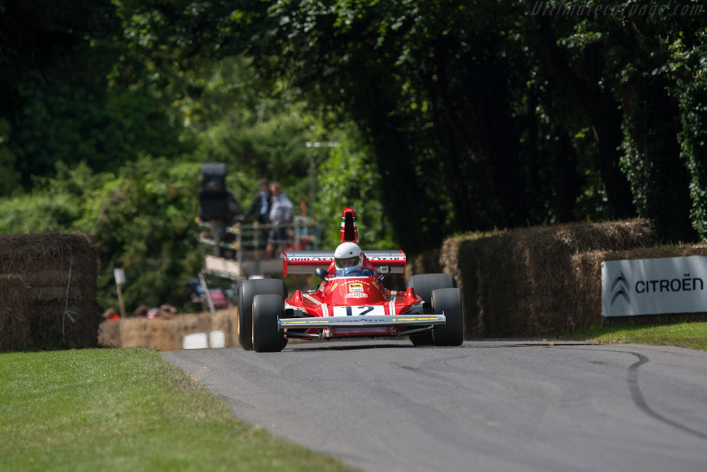 Ferrari 312 B3 - Chassis: 010   - 2012 Goodwood Festival of Speed