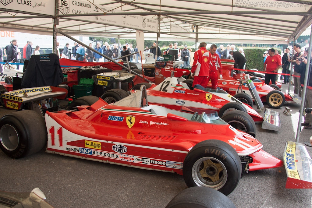 Ferrari 312 T4 - Chassis: 040   - 2012 Goodwood Festival of Speed