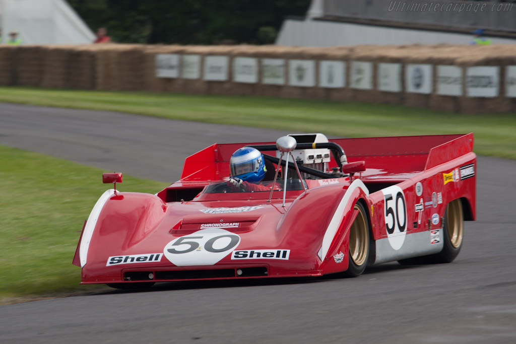 Ferrari 712 Can-Am - Chassis: 1010 - Driver: Paul Knapfield  - 2012 Goodwood Festival of Speed
