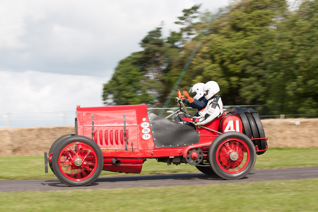 Fiat S74 - Chassis: 1 - Driver: George Wingard  - 2012 Goodwood Festival of Speed