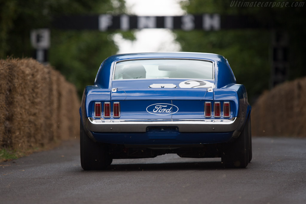 Ford Mustang BOSS 302    - 2012 Goodwood Festival of Speed
