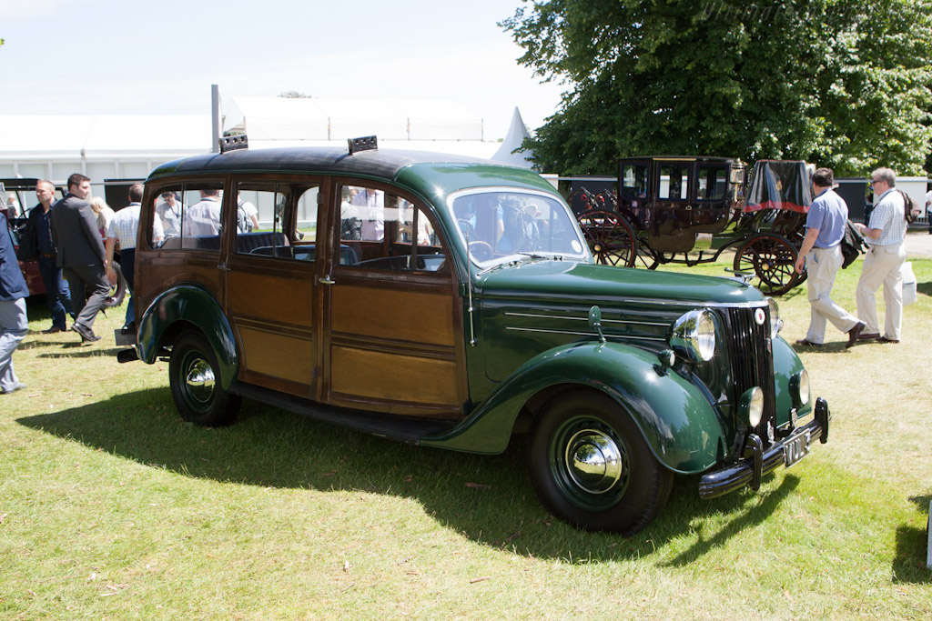 Ford V8 Pilot Shooting Brake    - 2012 Goodwood Festival of Speed