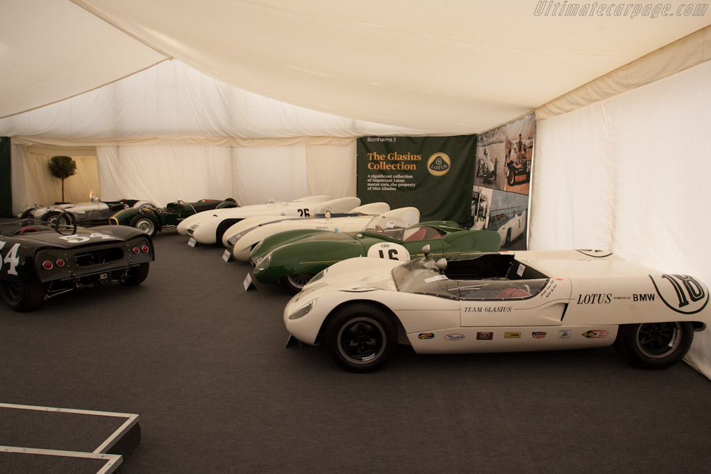 Glasius Lotus Collection    - 2012 Goodwood Festival of Speed