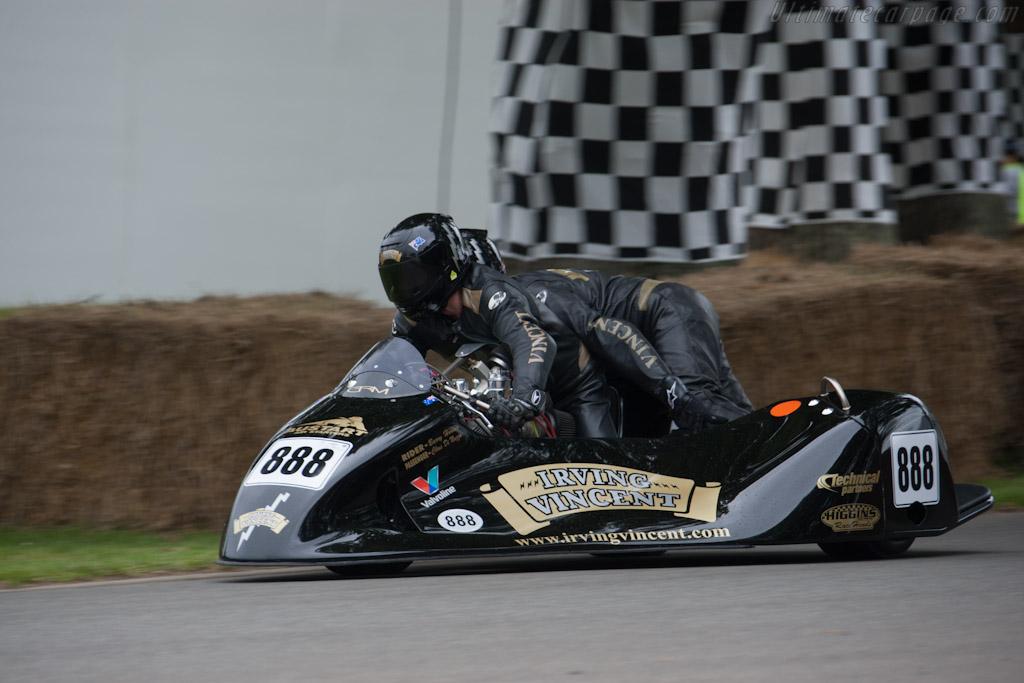 Irving Daytona 500 Vincent    - 2012 Goodwood Festival of Speed