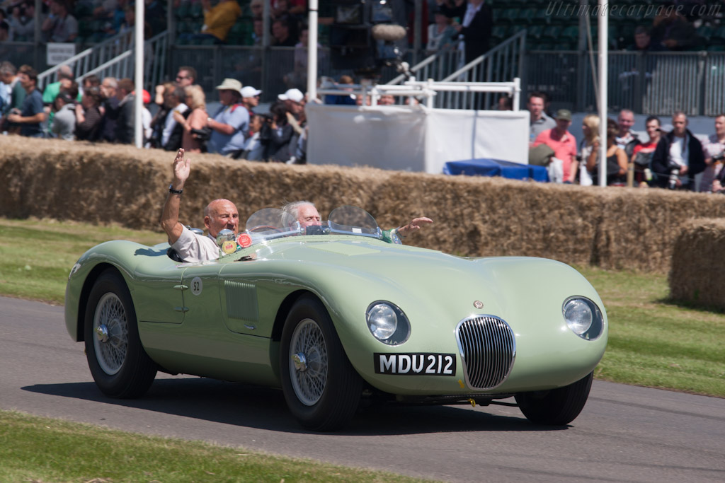 Jaguar C-Type - Chassis: XKC 005 - Driver: Stirling Moss & Norman Dewis - 2012 Goodwood Festival of Speed