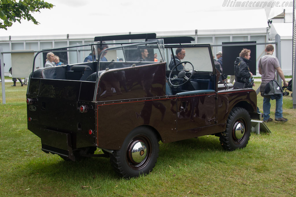 Land Rover Series II Royal Review Vehicle    - 2012 Goodwood Festival of Speed