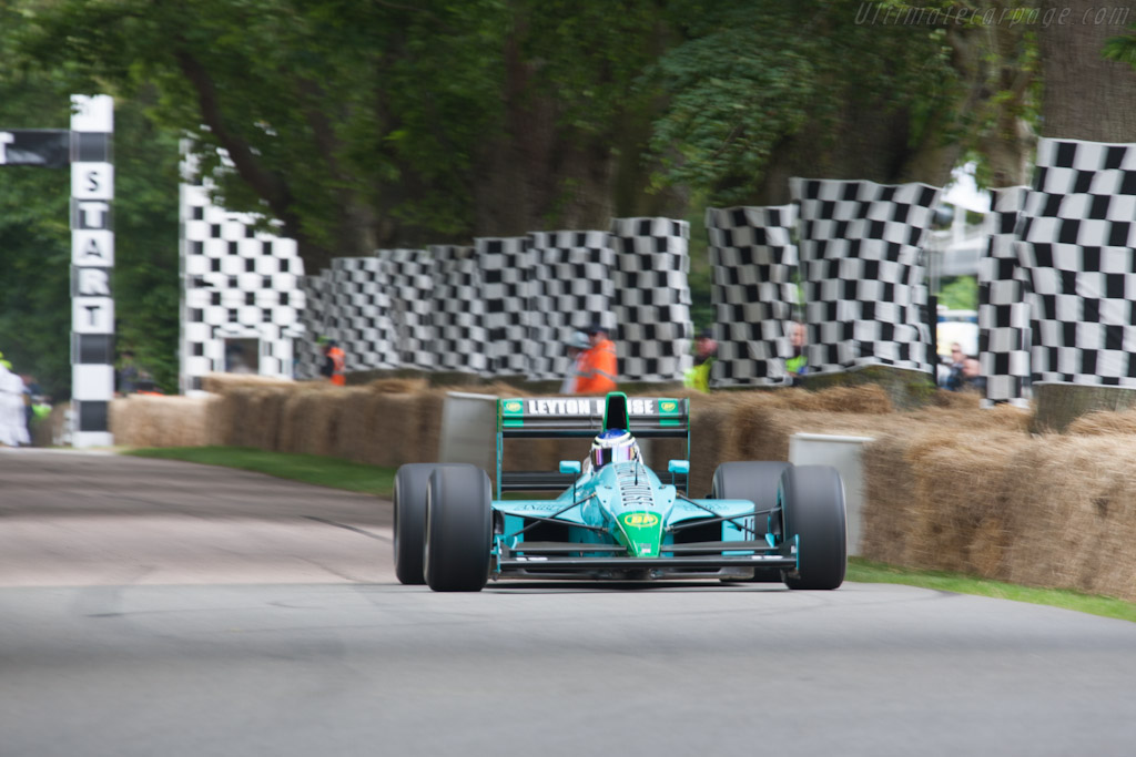Leyton House CG901B Judd - Chassis: 003   - 2012 Goodwood Festival of Speed