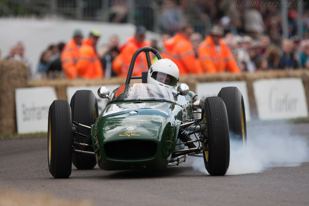 Lotus 18 Climax - Chassis: 373   - 2012 Goodwood Festival of Speed