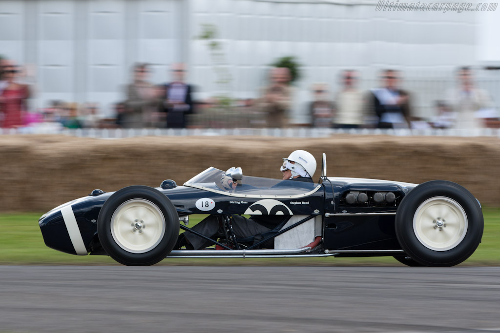 Lotus 18 Climax - Chassis: 912 - Entrant: Nigel Bond - Driver: Stirling Moss  - 2012 Goodwood Festival of Speed