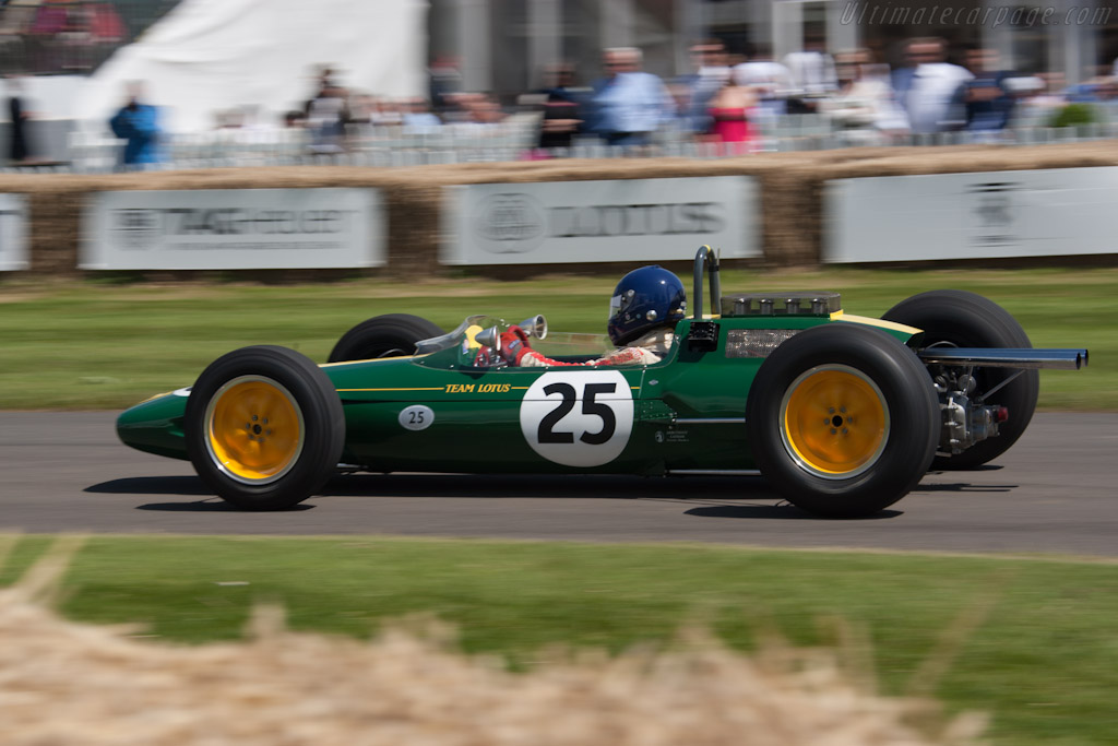 Lotus 25 Climax - Chassis: R3   - 2012 Goodwood Festival of Speed