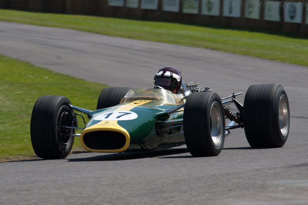 Lotus 49 Cosworth - Chassis: R2   - 2012 Goodwood Festival of Speed