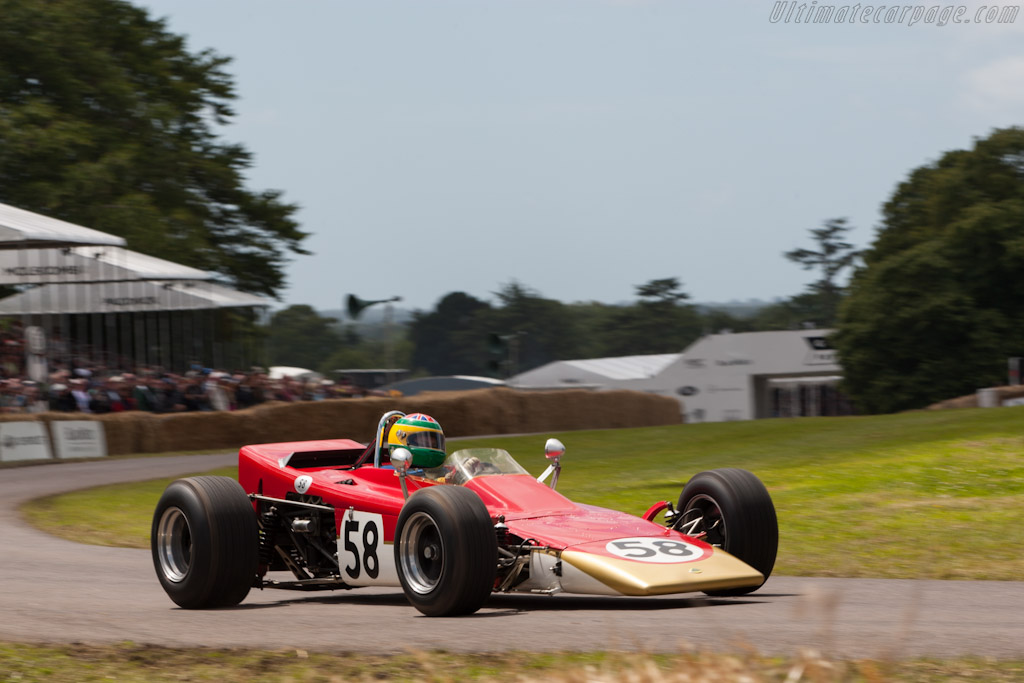 Lotus 58 Cosworth - Chassis: 58-1   - 2012 Goodwood Festival of Speed