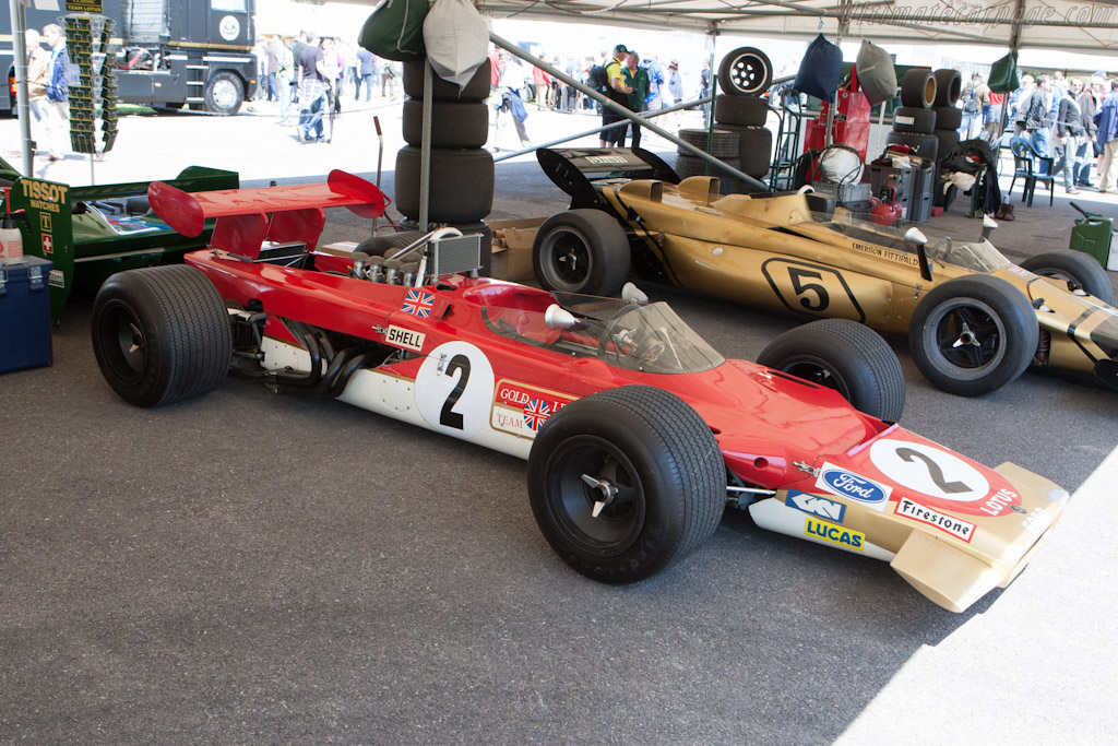 Lotus 63 Cosworth - Chassis: 63-1   - 2012 Goodwood Festival of Speed