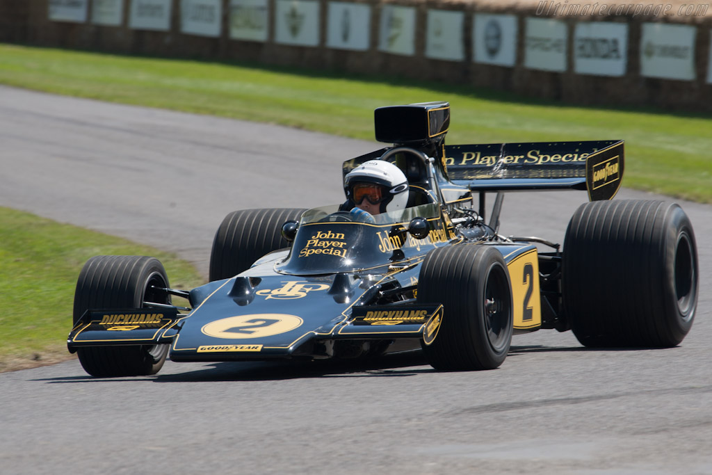 Lotus 72 Cosworth - Chassis: R5-2   - 2012 Goodwood Festival of Speed