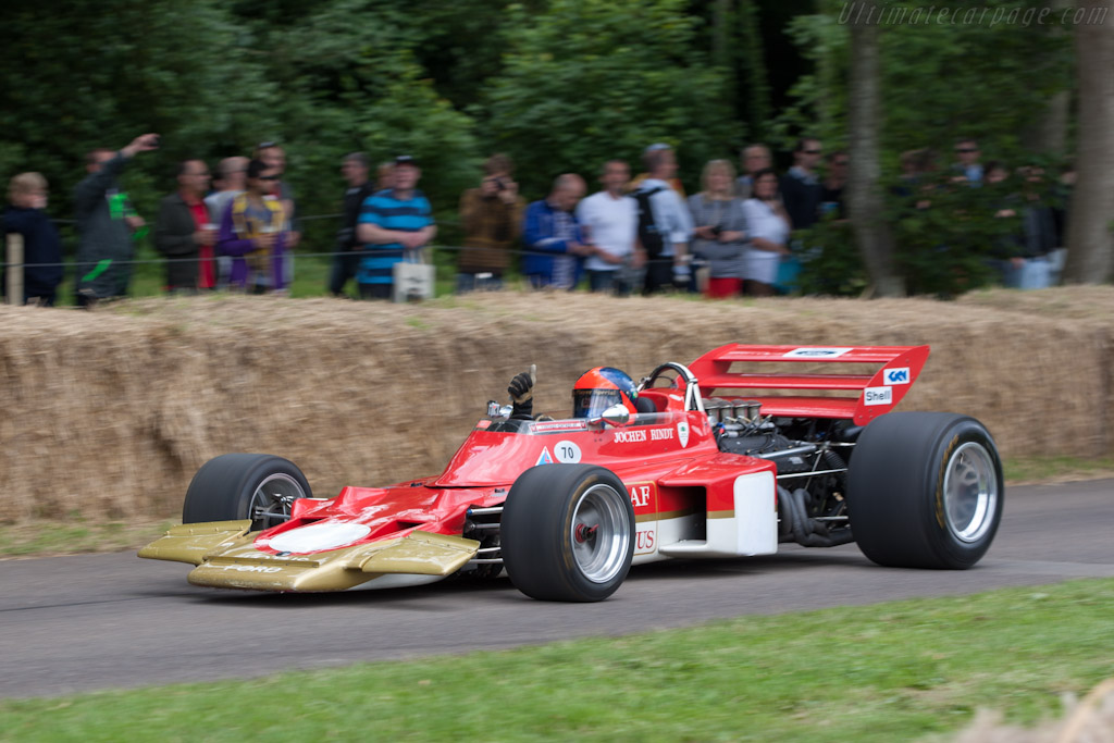 Lotus 72 Cosworth Chassis R4 2012 Goodwood Festival