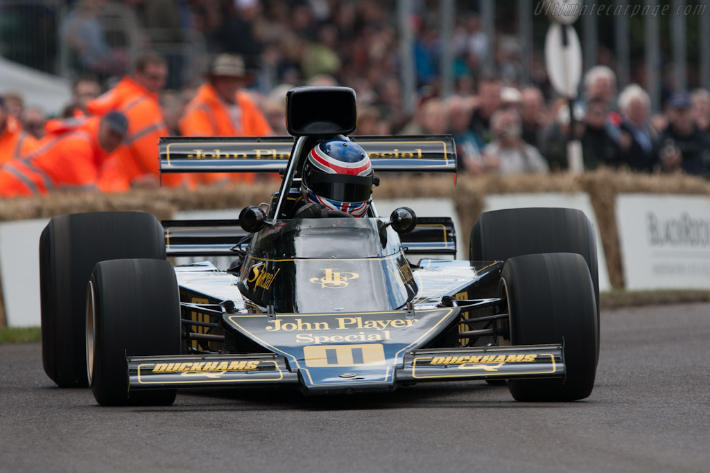 Lotus 76 Cosworth - Chassis: JPS9   - 2012 Goodwood Festival of Speed