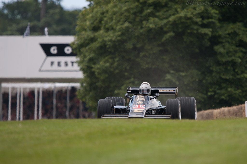 Lotus 77 Cosworth - Chassis: JPS14   - 2012 Goodwood Festival of Speed