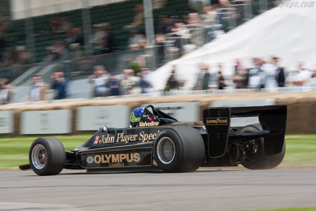 Lotus 79 Cosworth - Chassis: 79/2   - 2012 Goodwood Festival of Speed
