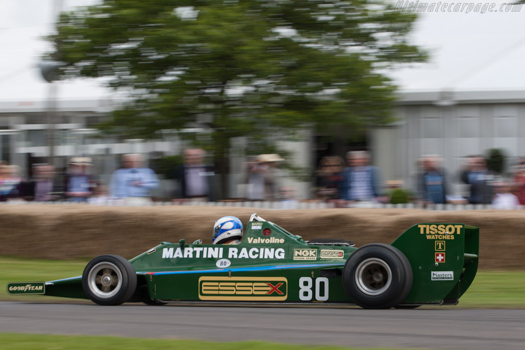 Lotus 80 Cosworth - Chassis: 80/1   - 2012 Goodwood Festival of Speed