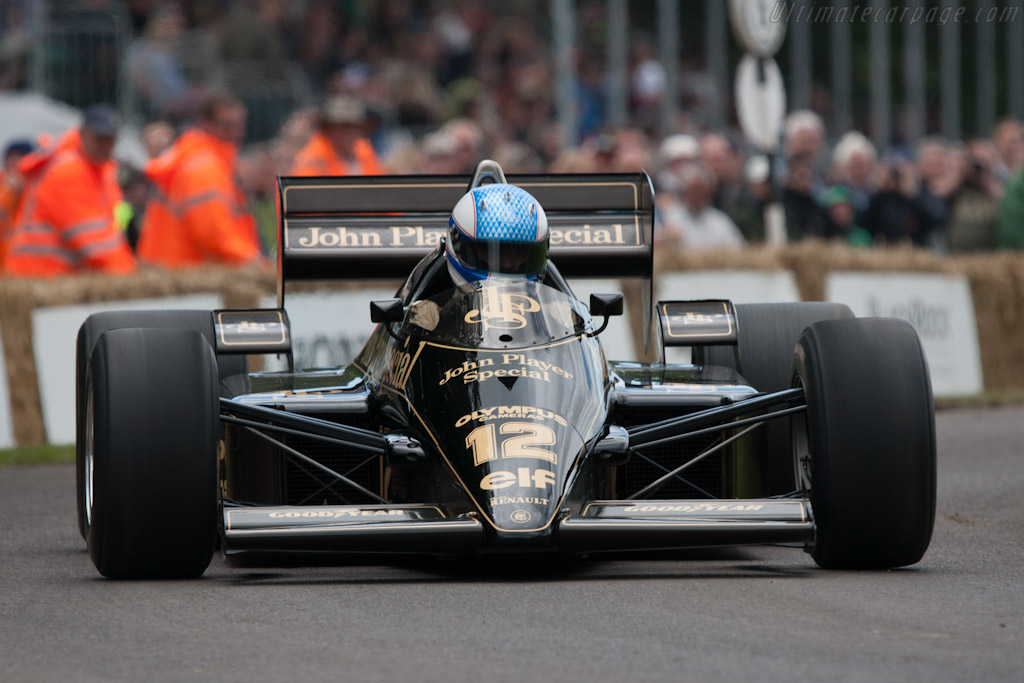Lotus 97T Renault - Chassis: 97T/2 - Entrant: Classic Team Lotus  - 2012 Goodwood Festival of Speed