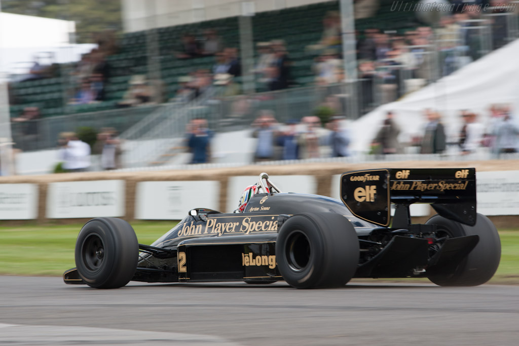 Lotus 98T Renault - Chassis: 98T - 3 - Driver: Tom Kristensen  - 2012 Goodwood Festival of Speed