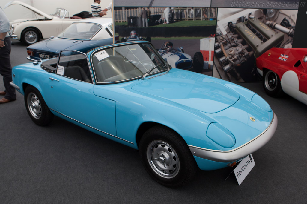 Lotus Elan - Chassis: 45/8395   - 2012 Goodwood Festival of Speed