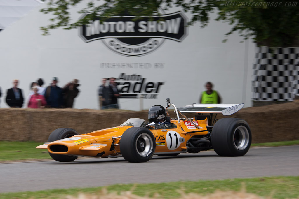 McLaren M14A Cosworth - Chassis: M14A/3   - 2012 Goodwood Festival of Speed