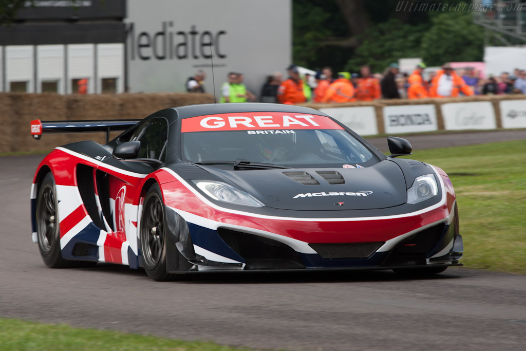 McLaren MP4-12C GTR    - 2012 Goodwood Festival of Speed