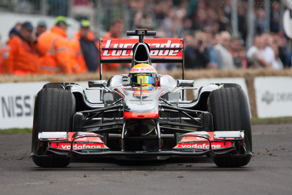 McLaren MP4-26 Mercedes - Chassis: MP4-26A-02 - Driver: Lewis Hamilton  - 2012 Goodwood Festival of Speed