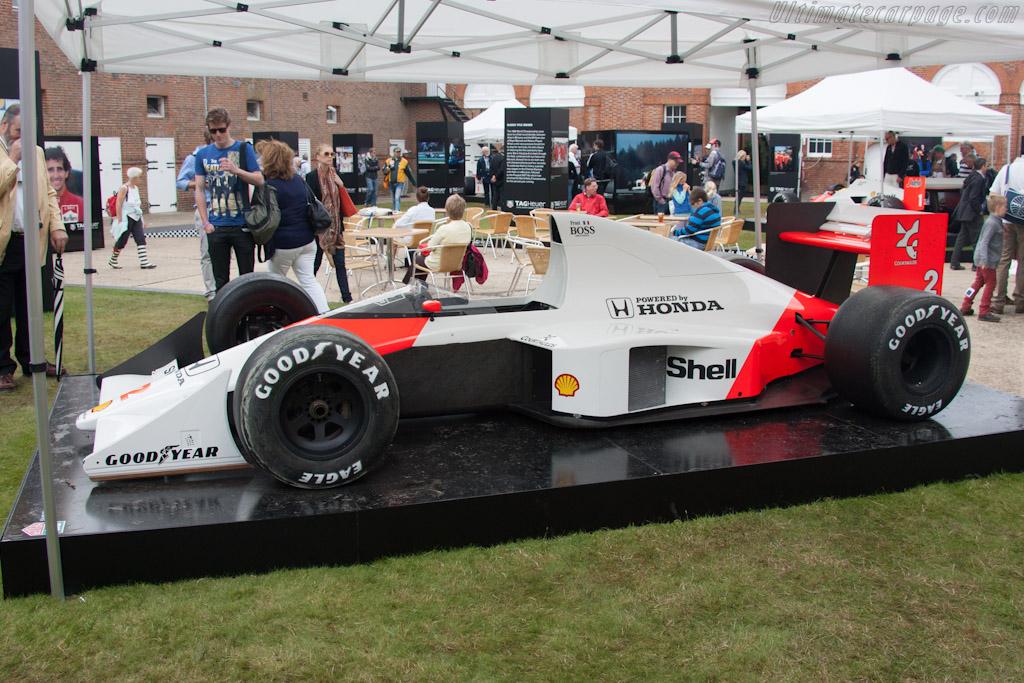McLaren MP4/5 Honda - Chassis: MP4/5-5   - 2012 Goodwood Festival of Speed