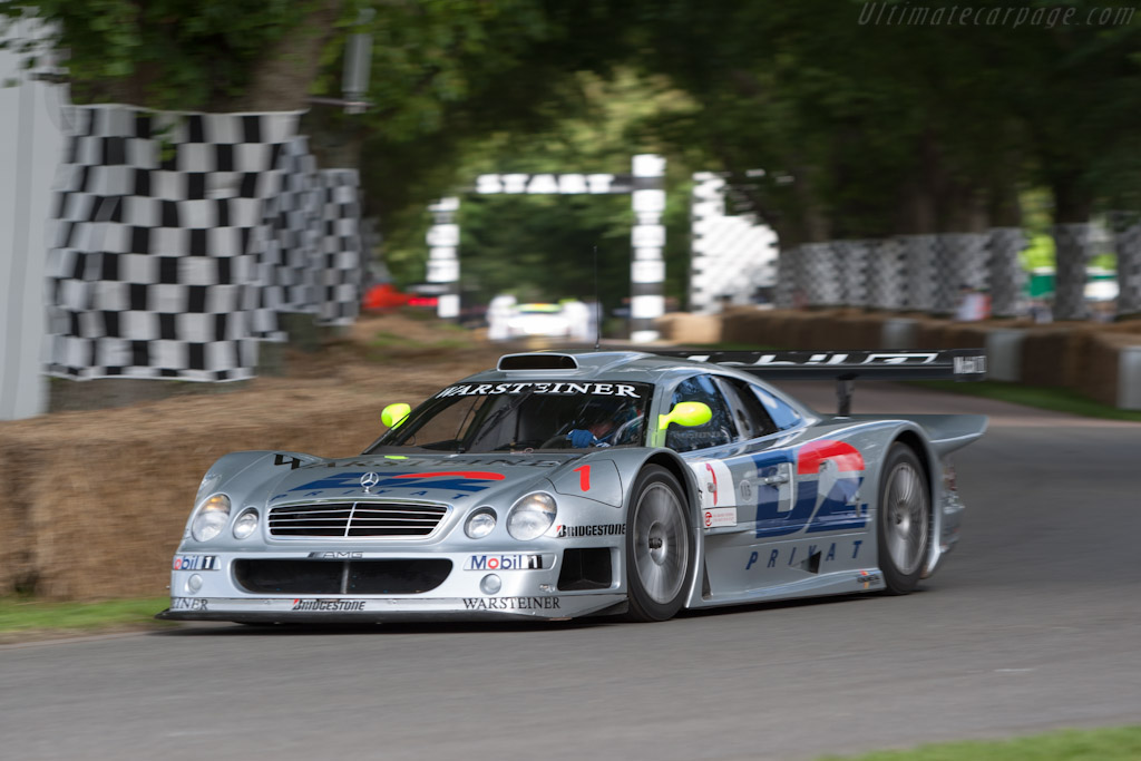 Mercedes-Benz CLK GTR - Chassis: 0004   - 2012 Goodwood Festival of Speed
