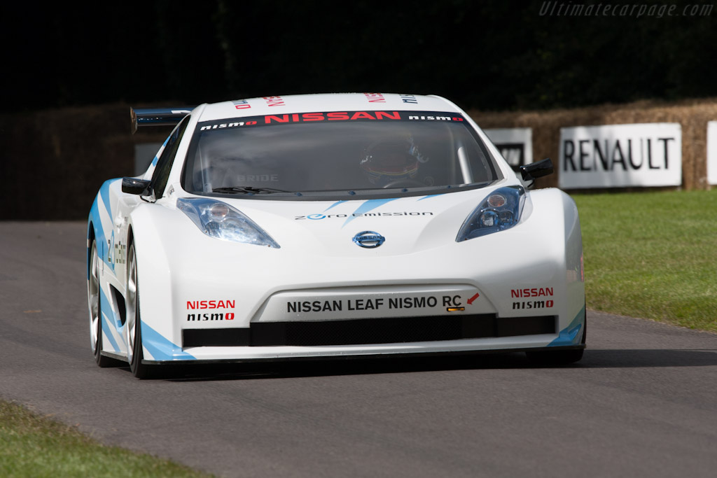 Nissan Leaf Nismo RC    - 2012 Goodwood Festival of Speed