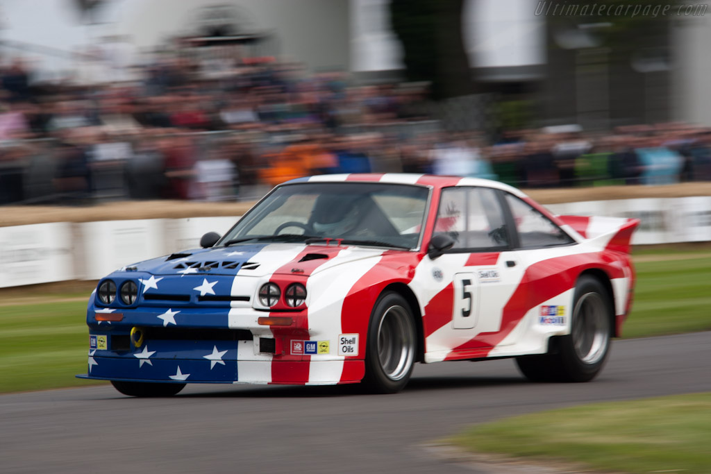 Opel Manta 400    - 2012 Goodwood Festival of Speed