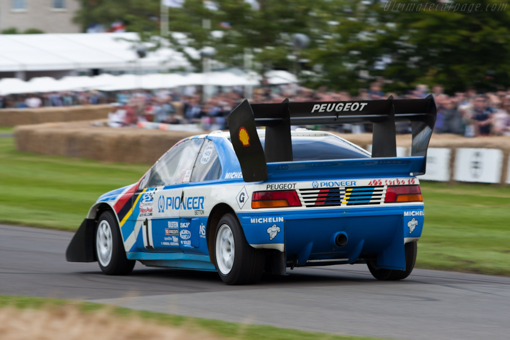 Peugeot 405 T16 GR 'Pikes Peak' - Chassis: 405003   - 2012 Goodwood Festival of Speed