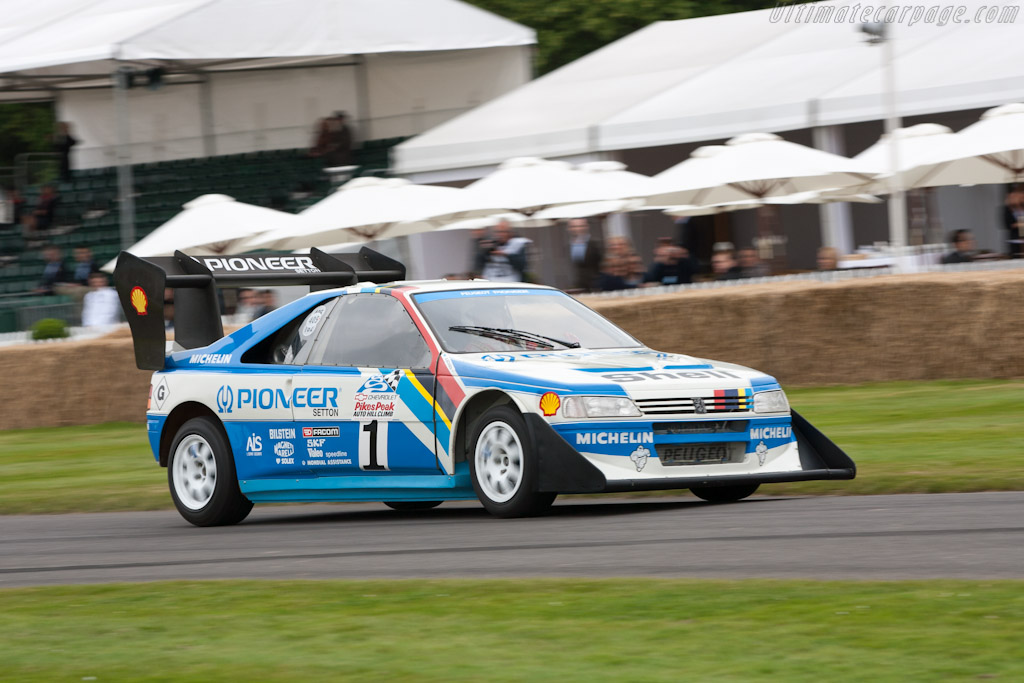 peugeot 405 t16 gr 39 pikes peak 39 chassis 405003 2012 goodwood festival of speed. Black Bedroom Furniture Sets. Home Design Ideas