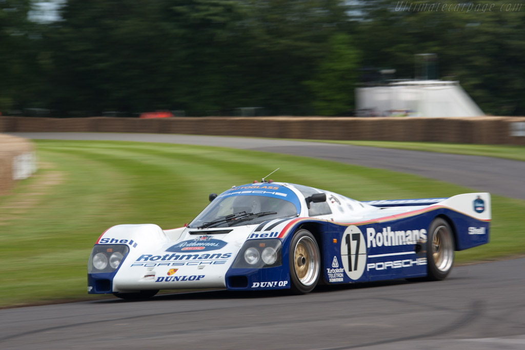 Porsche 962C - Chassis: 962-006   - 2012 Goodwood Festival of Speed