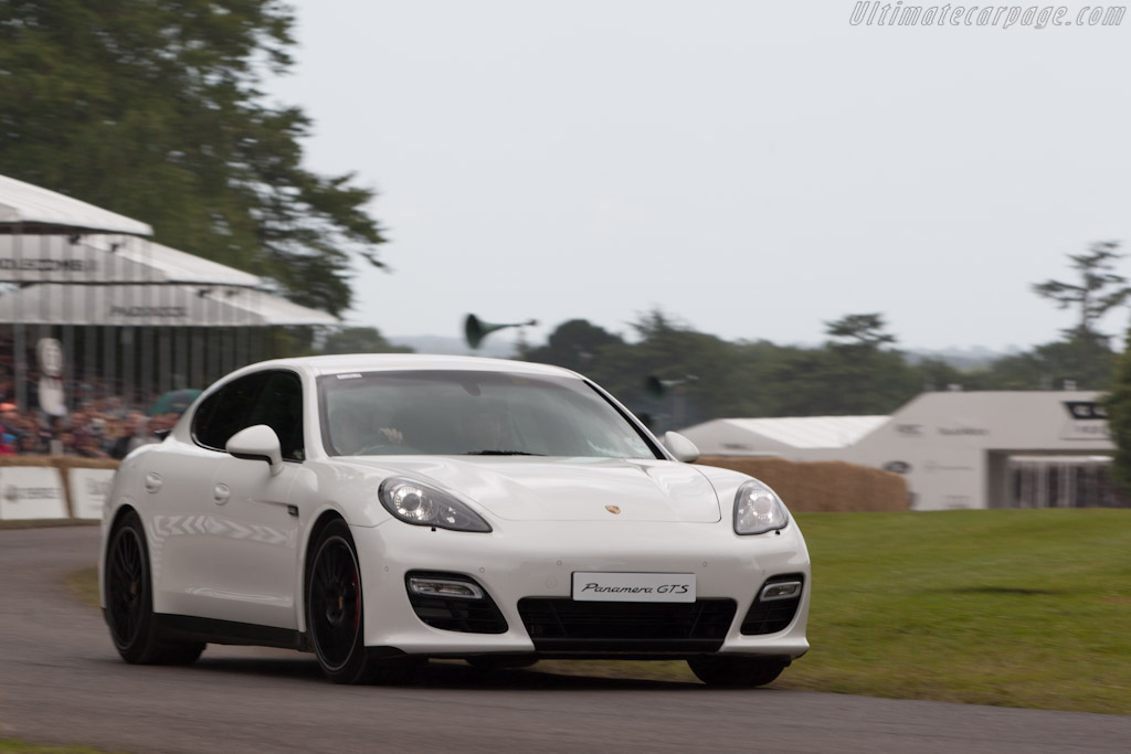 Porsche Panamera GTS    - 2012 Goodwood Festival of Speed