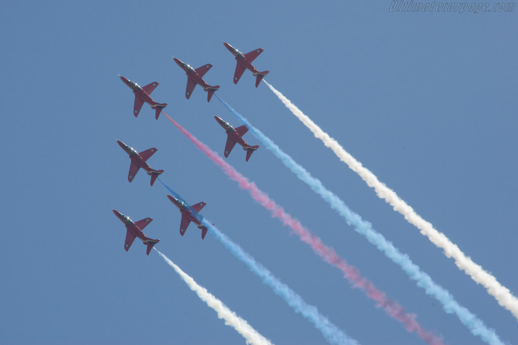 Red Arrows    - 2012 Goodwood Festival of Speed