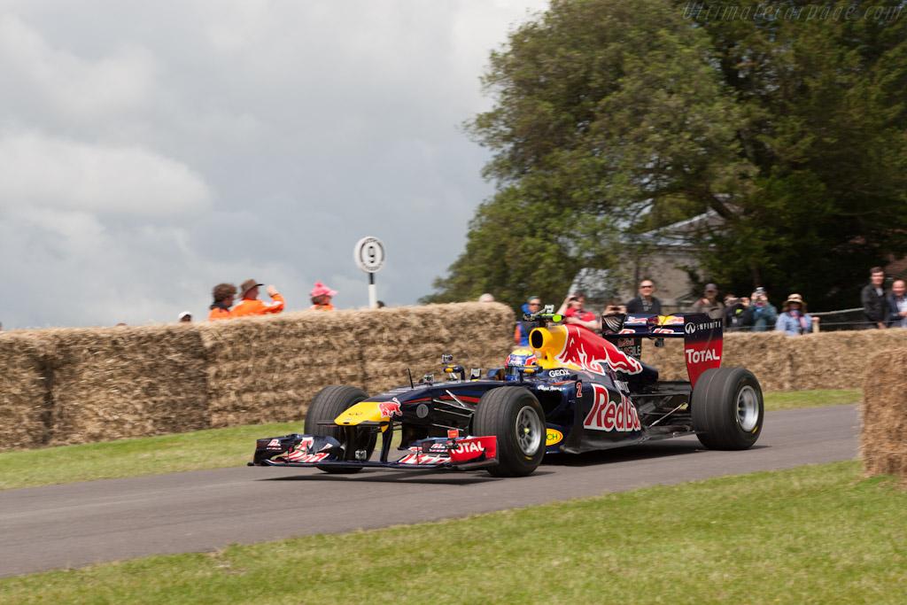Red Bull Racing RB7 Renault  - Driver: Mark Webber  - 2012 Goodwood Festival of Speed