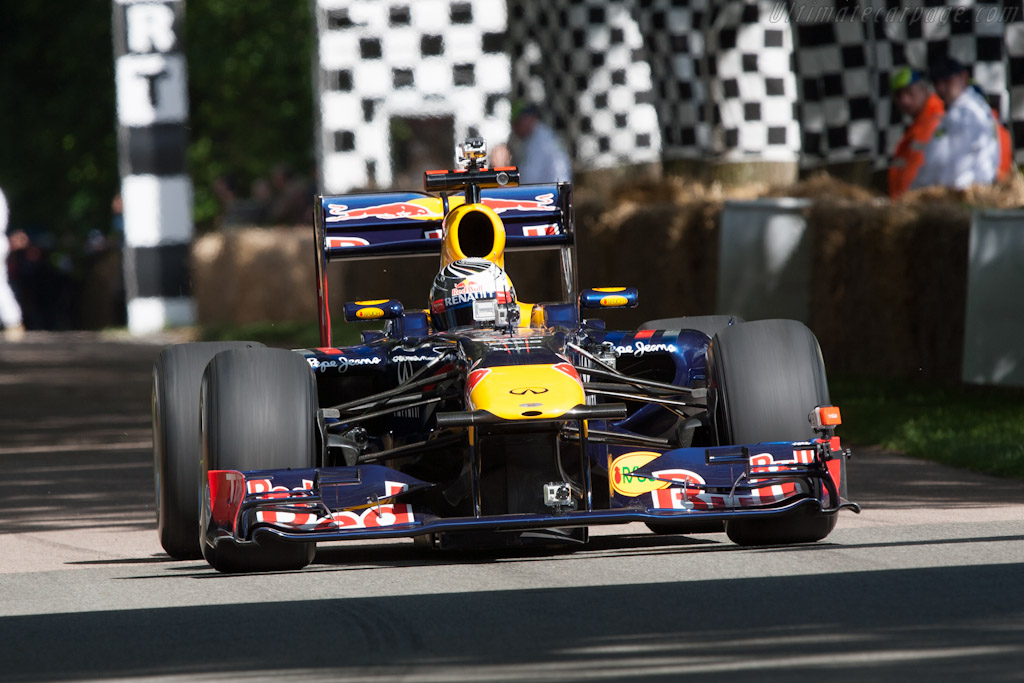 Red Bull Racing RB7 Renault  - Driver: Sebastien Vettel  - 2012 Goodwood Festival of Speed