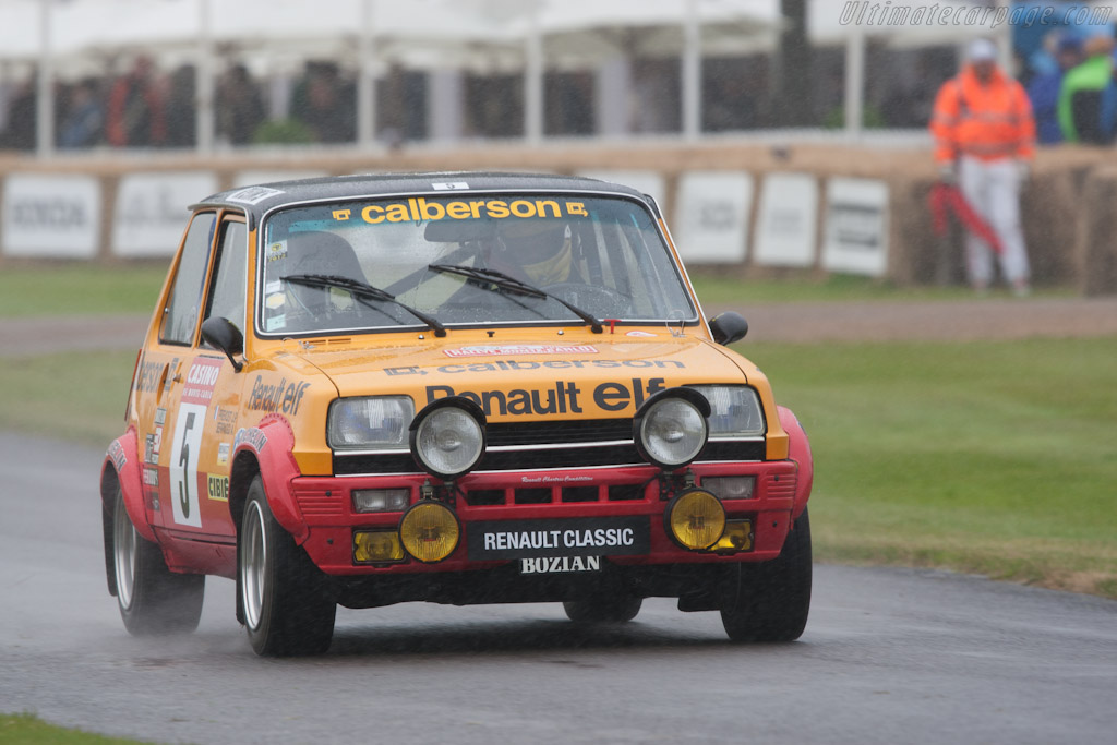Renault 5 - Chassis: 7663004   - 2012 Goodwood Festival of Speed