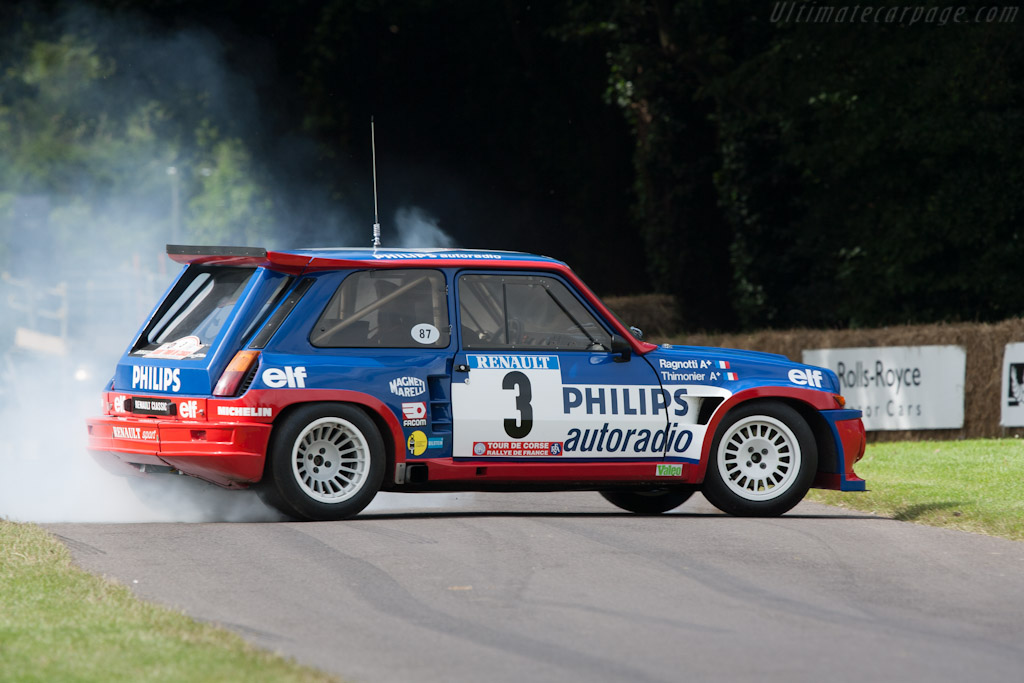 Renault 5 Maxi  - Driver: Jean Ragnotti  - 2012 Goodwood Festival of Speed