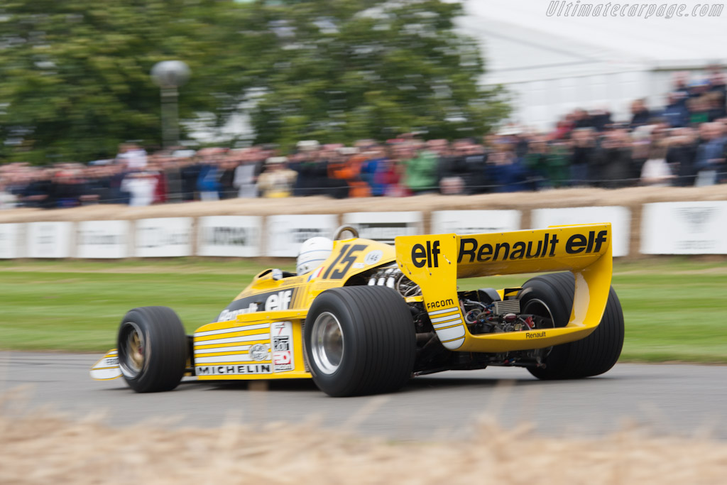 Renault RS01 - Chassis: RS 01/04   - 2012 Goodwood Festival of Speed