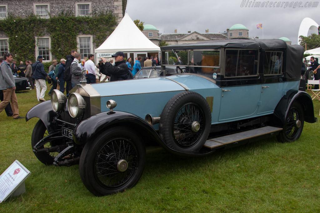 Rolls-Royce Silver Ghost    - 2012 Goodwood Festival of Speed