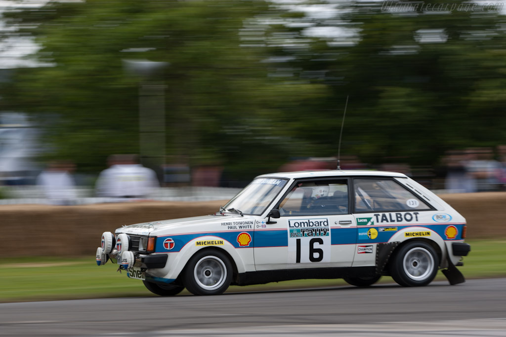 Talbot Sunbeam Lotus    - 2012 Goodwood Festival of Speed