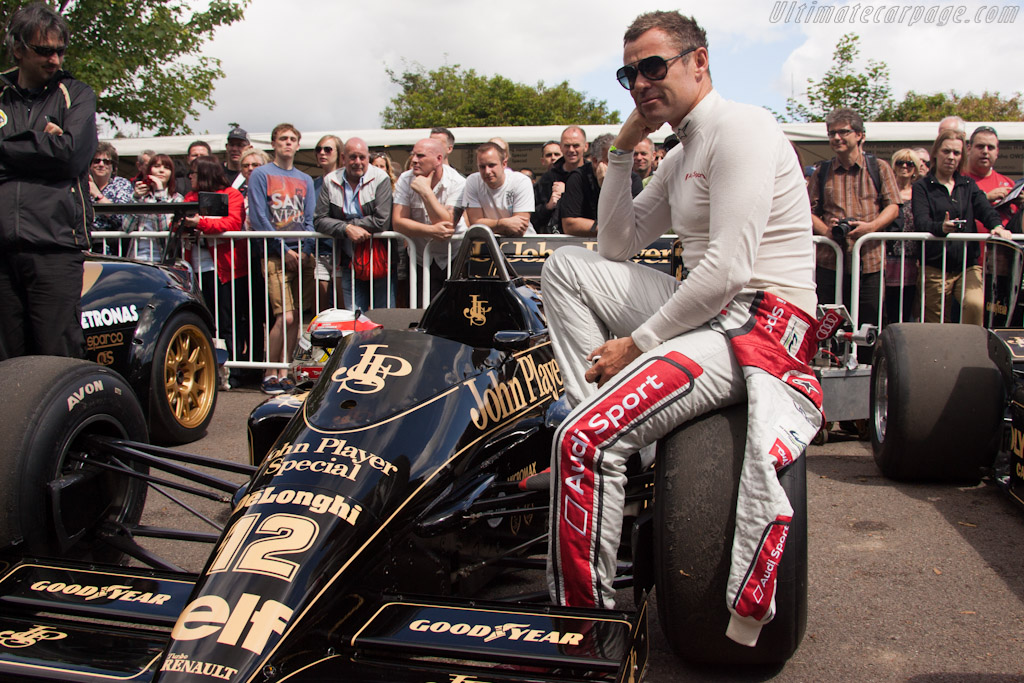 Tom Kristensen    - 2012 Goodwood Festival of Speed